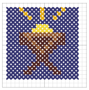 Cradle Cross Stitch Pattern