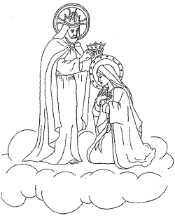 Fifth Glorious Mystery The Coronation Of Mary